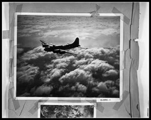 Primary view of object titled 'Plane Over Clouds'.