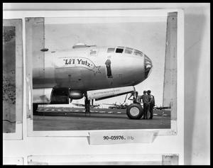 "Primary view of object titled 'Plane Nicknamed ""Li'l Yutz""'."