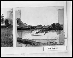 Primary view of object titled 'Crashed Plane'.