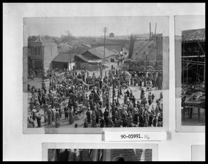Primary view of object titled 'Crowded Oriental Street'.