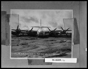 Primary view of object titled 'Plane on Ground'.