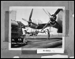 Primary view of object titled 'Planes Being Refueled'.