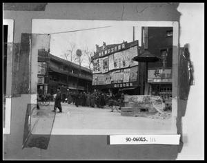 Primary view of object titled 'Oriental Street and Poster Wall'.