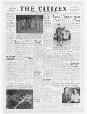 Primary view of object titled 'The Citizen (Houston, Tex.), Vol. 1, No. 23, Ed. 1 Friday, December 12, 1947'.