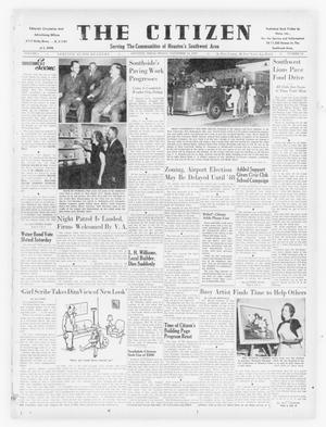 Primary view of object titled 'The Citizen (Houston, Tex.), Vol. 1, No. 18, Ed. 1 Friday, November 14, 1947'.