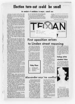Primary view of object titled 'The Bellaire & Southwestern Texan (Bellaire, Tex.), Vol. 18, No. 54, Ed. 1 Wednesday, March 29, 1972'.