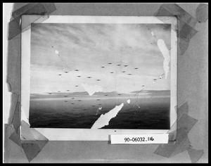 Primary view of object titled 'Group of Planes in Flight'.