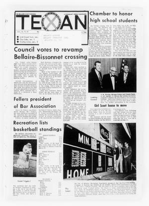 Primary view of object titled 'The Bellaire & Southwestern Texan (Bellaire, Tex.), Vol. 19, No. 45, Ed. 1 Wednesday, February 14, 1973'.