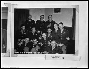 Primary view of object titled 'Group of Military Men'.
