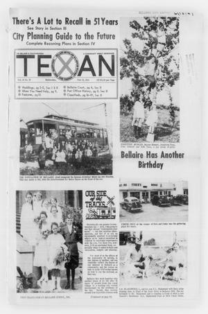 Primary view of object titled 'The Bellaire & Southwestern Texan (Bellaire, Tex.), Vol. 16, No. 18, Ed. 1 Wednesday, June 18, 1969'.