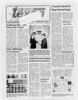 Primary view of object titled 'The Bellaire Texan (Bellaire, Tex.), Vol. 25, No. 19, Ed. 1 Wednesday, January 26, 1977'.