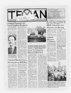 Primary view of object titled 'The Bellaire & Southwestern Texan (Bellaire, Tex.), Vol. 25, No. 9, Ed. 1 Wednesday, November 17, 1976'.