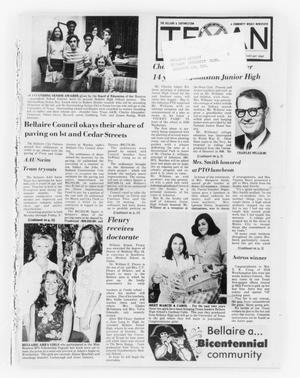 Primary view of object titled 'The Bellaire & Southwestern Texan (Bellaire, Tex.), Vol. 24, No. 5, Ed. 1 Wednesday, June 4, 1975'.