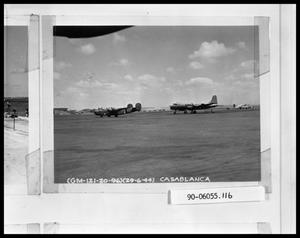 Primary view of object titled 'Planes on Airstrip'.