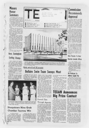 Primary view of object titled 'The Bellaire & Southwestern Texan (Bellaire, Tex.), Vol. 18, No. 2, Ed. 1 Wednesday, March 17, 1971'.
