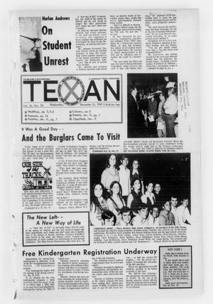 Primary view of object titled 'The Bellaire & Southwestern Texan (Bellaire, Tex.), No. 28, Ed. 1 Wednesday, December 10, 1969'.