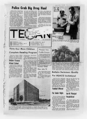 Primary view of object titled 'The Bellaire & Southwestern Texan (Bellaire, Tex.), Vol. 18, No. 20, Ed. 1 Wednesday, July 21, 1971'.