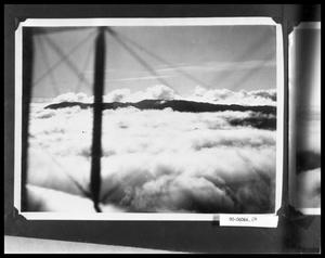 Primary view of object titled 'View of Mountains From Bi-Plane'.