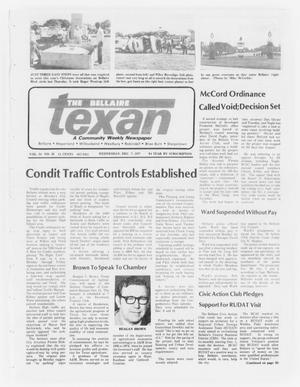 Primary view of object titled 'The Bellaire Texan (Bellaire, Tex.), Vol. 24, No. 31, Ed. 1 Wednesday, December 7, 1977'.