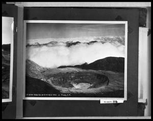 Primary view of object titled 'Aerial View of Volcano'.