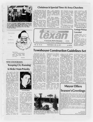 Primary view of object titled 'The Bellaire Texan (Bellaire, Tex.), Vol. 24, No. 33, Ed. 1 Wednesday, December 21, 1977'.