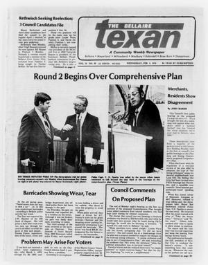 Primary view of object titled 'The Bellaire Texan (Bellaire, Tex.), Vol. 24, No. 39, Ed. 1 Wednesday, February 1, 1978'.