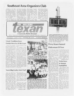 Primary view of object titled 'The Bellaire Texan (Bellaire, Tex.), Vol. 24, No. 24, Ed. 1 Wednesday, October 19, 1977'.