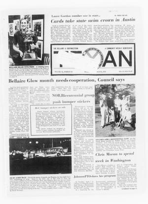 Primary view of object titled 'The Bellaire & Southwestern Texan (Bellaire, Tex.), Vol. 21, No. 48, Ed. 1 Wednesday, March 26, 1975'.