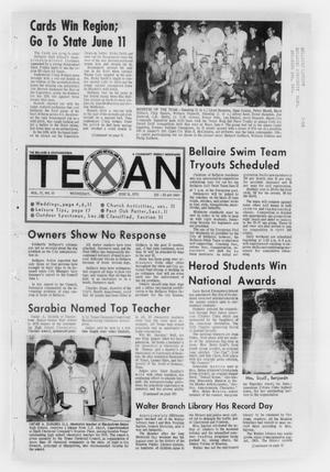 Primary view of object titled 'The Bellaire & Southwestern Texan (Bellaire, Tex.), Vol. 17, No. 15, Ed. 1 Wednesday, June 10, 1970'.