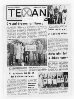 Primary view of object titled 'The Bellaire & Southwestern Texan (Bellaire, Tex.), Vol. 20, No. 40, Ed. 1 Wednesday, January 2, 1974'.