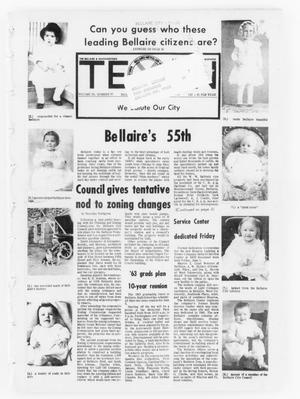 Primary view of object titled 'The Bellaire & Southwestern Texan (Bellaire, Tex.), Vol. 20, No. 10, Ed. 1 Wednesday, June 6, 1973'.