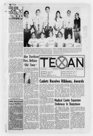 Primary view of object titled 'The Bellaire & Southwestern Texan (Bellaire, Tex.), No. 28, Ed. 1 Wednesday, September 3, 1969'.