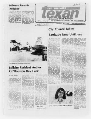 Primary view of object titled 'The Bellaire Texan (Bellaire, Tex.), Vol. 25, No. 2, Ed. 1 Wednesday, May 17, 1978'.
