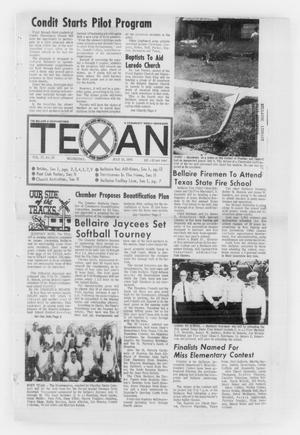 Primary view of object titled 'The Bellaire & Southwestern Texan (Bellaire, Tex.), Vol. 17, No. 20, Ed. 1 Wednesday, July 15, 1970'.