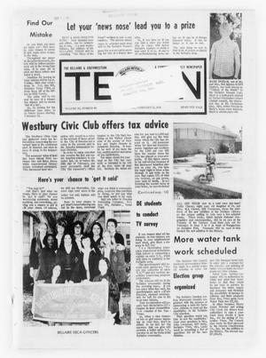 Primary view of object titled 'The Bellaire & Southwestern Texan (Bellaire, Tex.), Vol. 20, No. 46, Ed. 1 Wednesday, February 13, 1974'.