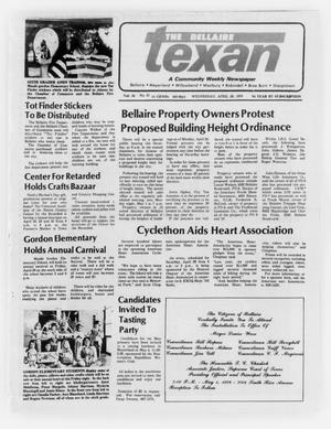 Primary view of object titled 'The Bellaire Texan (Bellaire, Tex.), Vol. 24, No. 51, Ed. 1 Wednesday, April 26, 1978'.