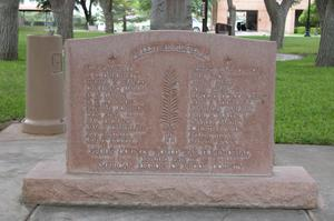 Pecos County WWII Memorial