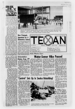 Primary view of object titled 'The Bellaire & Southwestern Texan (Bellaire, Tex.), No. 24, Ed. 1 Wednesday, August 20, 1969'.