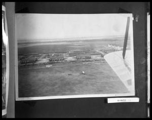 Primary view of object titled 'Aerial View of Airstrip'.