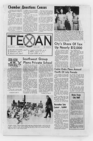 Primary view of object titled 'The Bellaire & Southwestern Texan (Bellaire, Tex.), Vol. 17, No. 18, Ed. 1 Wednesday, July 1, 1970'.