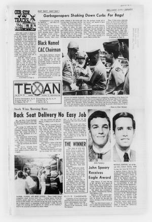 Primary view of object titled 'The Bellaire & Southwestern Texan (Bellaire, Tex.), No. 29, Ed. 1 Wednesday, October 15, 1969'.
