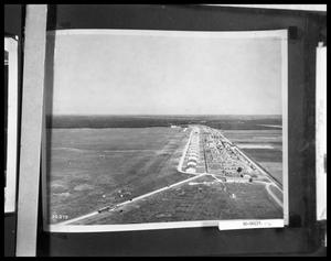 Primary view of object titled 'Aerial View of Airfield'.