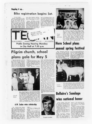 Primary view of object titled 'The Bellaire & Southwestern Texan (Bellaire, Tex.), Vol. 20, No. 5, Ed. 1 Wednesday, May 2, 1973'.