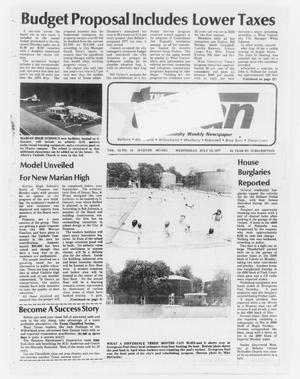 Primary view of object titled 'The Bellaire Texan (Bellaire, Tex.), Vol. 24, No. 10, Ed. 1 Wednesday, July 13, 1977'.