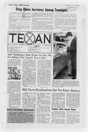 Primary view of object titled 'The Bellaire & Southwestern Texan (Bellaire, Tex.), No. 31, Ed. 1 Wednesday, January 14, 1970'.