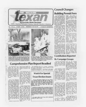 Primary view of object titled 'The Bellaire Texan (Bellaire, Tex.), Vol. 24, No. 11, Ed. 1 Wednesday, July 20, 1977'.