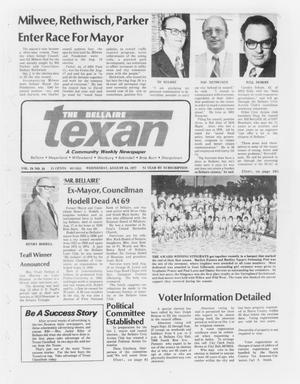 Primary view of object titled 'The Bellaire Texan (Bellaire, Tex.), Vol. 24, No. 16, Ed. 1 Wednesday, August 24, 1977'.