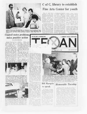 Primary view of object titled 'The Bellaire & Southwestern Texan (Bellaire, Tex.), Vol. 21, No. 42, Ed. 1 Wednesday, February 5, 1975'.