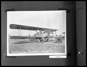 "Bi-Plane Nicknamed ""Boston"""