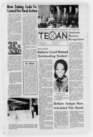 Primary view of object titled 'The Bellaire & Southwestern Texan (Bellaire, Tex.), No. 28, Ed. 1 Wednesday, October 8, 1969'.